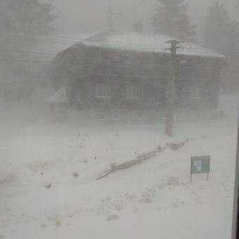 Tak takhle u nás dnes sněží…